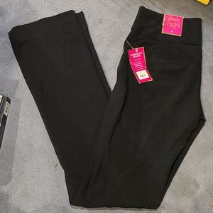 NWT black pants Candie's Perfecr Boot City Fit